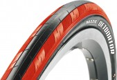 Покрышка Maxxis Detonator bk/red 60 TPI Folding Single 27.5x1.5